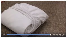 It's a common customer question as to how we fold these. Here is how its done. Double click the picture to play the video.