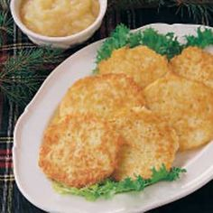 Potato Pancakes - my Swedish grandmother used to make these when I was a kid, sooo good, and feels like home!
