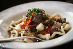 Lagman Shurpa from Kazakhstan. Delicious & completely addictive.