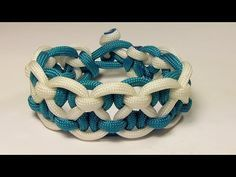 How To Tie The Hugs And Kisses (XOXO) Paracord Bracelet No Buckle - YouTube