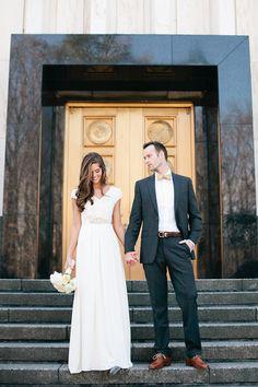 Washington DC Wedding Photographer | Virginia Wedding Photographer + Destination Photographer: JoAnna + Thorn | Sneak Preview | Washington DC Wedding Photographer - J Crew vivienne