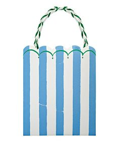 Take a look at this Toot Sweet Blue Party Bag - Set of Eight by Meri Meri on #zulily today!