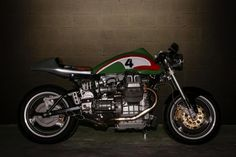"""Moto Guzzi Cafe Racer """"The Stallion II"""" by Barn Luck #motorcycles #caferacer #motos 
