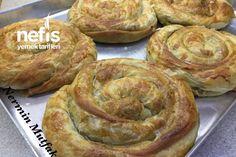 El Açması Ispanaklı Börek Tarifi nasıl yapılır? 5.683 kişinin defterindeki bu tarifin detaylı anlatımı ve deneyenlerin fotoğrafları burada. Bagel, Apple Pie, Potatoes, Menu, Bread, Breakfast, Desserts, Recipes, Food