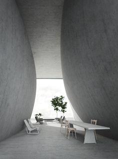 House -Minimalist- PAUL KALOUSTIAN ARCHITECT