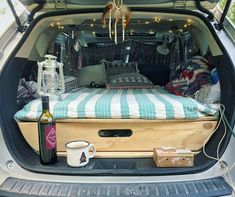 Car camping honda fit road trips new ideas Auto Camping, Minivan Camping, Truck Camping, Beach Camping, Tent Camping, Family Camping, Family Cars, Outdoor Camping, Camping Accessories