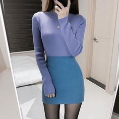Fashion Korean Cute Chic Dress Ideas For 2019 Korean Fashion Trends, Asian Fashion, Girl Fashion, Fashion Outfits, Dress Fashion, Chic Dress, Classy Dress, Trendy Dresses, Trendy Outfits
