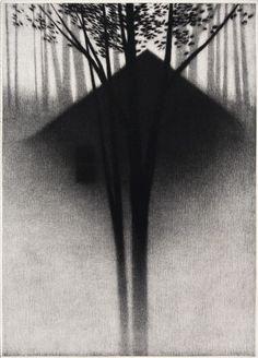 "Robert Kipniss : ""Appearing"" mezzotint / Davidson Galleries"