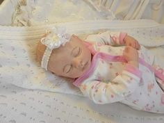 Meg By Grace Rees - Reborns.com Reborn Nursery, Welcome Baby, Reborn Baby Dolls, Cuddling, 5 Pounds, Poses, Pure Products, Brown Hair, Things To Sell
