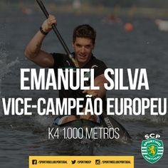 Emanuel Silva conquistou esta manhã a medalha de prata em K4 1.000 metros, na República Checa, juntamente com Fernando Pimenta, João Ribeiro e David Fernandes. Parabéns, 'leão'!