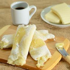 Eleito nosso queridinho para um lanche {GOSTOSO} da tarde {YUMMY}!!!  #tapioca #reginasalomao #foodporn