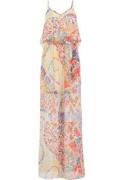 Emilio Pucci - Printed Silk Maxi Dress