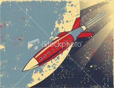 Retro rocket.