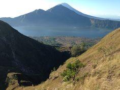 On top of Mount Batur