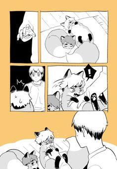 Haikyuu Manga, Haikyuu Kageyama, Haikyuu Funny, Haikyuu Fanart, Haikyuu Ships, Anime Chibi, Fanarts Anime, Manga Anime, Kurotsuki