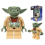 LEGO Star Wars Yoda Minifigure Clock - http://lopso.com/interests/clocks/lego-star-wars-yoda-minifigure-clock/