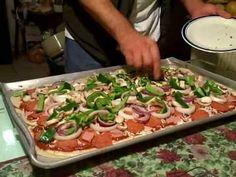CHUCHEMAN como hacer una pizza casera -Recetas de cocina
