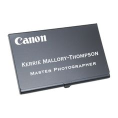 Items Similar To Custom Business Card Holder Anodized Aluminum With Personalized Engraving On Etsy