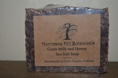 Sea Salt and Goats Milk Soap by hurricanehill. Explore more products on http://hurricanehill.etsy.com