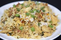 Easy Chicken Biryani | Flavored with fragrant, Indian spices, traditional chicken biryani is an incredible comfort food, but it typically requires cooking the chicken and vegetables separately, using several pans. Our simplified method delivers the classic, crave-worthy flavors with a little less effort and cleanup.