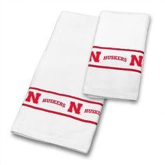 Nebraska Cornhuskers Towel Set