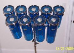 DIY Octobans (tube drums) Methinks I am finally going to give 'em a try Pvc Pipe Instrument, Wooden Musical Instruments, Music Instruments, Diy Drums, Acrylic Tube, Ludwig Drums, Bar Music, Pearl Drums, Toms