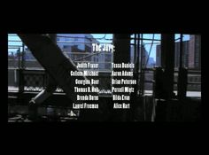 Karen Ostrom's 'The End' was part of AD Projects' screening at the Big Screen Plaza, 10.25.11    These are credits for a narrative and story that never existed! Obviously, we closed out our eerie video evening with Karen's work.