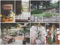 Flowers by Kate Healey Flowers/Big Sur Flowers; Photograph by Evynn LeValley Photography