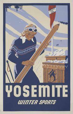 Yosemite, Winter Sports