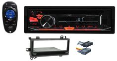 1997-2002 JEEP WRANGLER TJ JVC Stereo/CD Player/Receiver Factory Replacement. New JVC KD-R470 Car CD MP3 Receiver w/ USB Input, iPod Control, 2 Preamps, 50x4. CD receiver with AM/FM tuner. Built-in MOSFET amplifier (22 watts RMS/50 peak x 4 channels). Built-in control and charging of select Android devices (Android version 4.1 and higher) using the USB connection. Compatible with USB flash drives loaded with MP3, WMA, WAV, and FLAC music files. Plays CDs, CD-Rs, and CD-RW discs including...