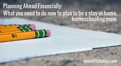 Financial-Planning for stay-at-home moms