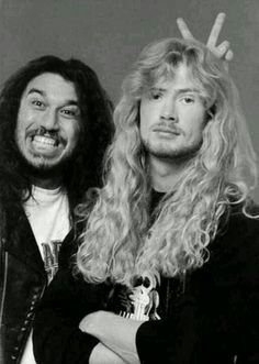 Used to be friends, and now they hate each other.. lol #Mustaine