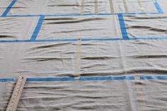 tutorial para hacer una alfombra rayuela