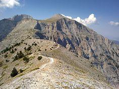Πριόνια Όλυμπος - καταφύγιο  (1100m.)