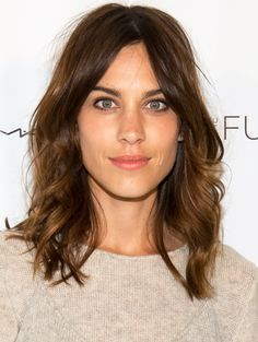 Alexa Chung- Queen of The Lob (Getty Images) #lob #loblove #primpedloves