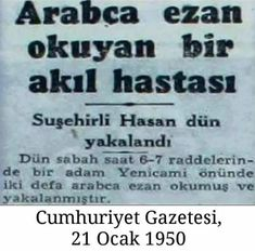 Asıl bu haberi yapanlar müslümanların gözünde akıl hastası Event Ticket, Don't Forget, Islam, Politics, History, Life, Twitter, Good To Know, Historia