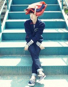 Ahn jaehyeon soooooo cute!