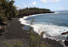 Kehena Beach, Puna District, Big Island, Hawaii