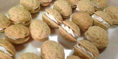 Mandľové oriešky - Tinkine recepty Sausage, Potatoes, Meat, Vegetables, Cake, Food, Sausages, Potato, Kuchen