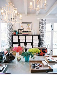 10 fashionable home office decors to inspire your own workspace styling