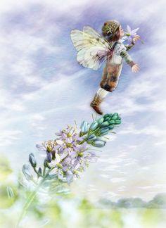 Fairy Painting by Miharu Yokota | Cuded