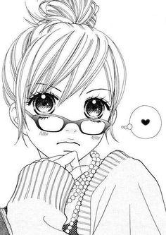Manga kawaii girl   #manga #art #blackandwhite #kawaii #cute #ezmkurd #kurdishotaku #مانجا #انمي_ابيض_واسود #مانجا_كاواي #كيوت