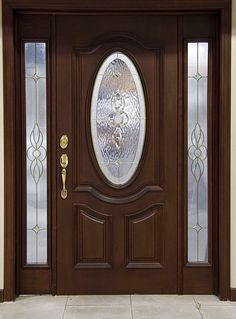 front door paint colors - Want a quick makeover? Paint your front door a different color. Here's some inspiration for you. Best Front Doors, Modern Front Door, Wood Front Doors, Exterior Front Doors, Painted Front Doors, Entrance Doors, Wooden Doors, Main Door Design, Wooden Door Design