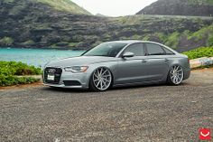 New Audi A6 Limo - Low on Vossen
