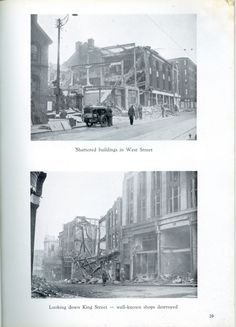 Sheffield Blitz - Story And Pictures Sheffield City, Yorkshire, Nostalgia, War, Memories, History, Pictures, Memoirs, Photos