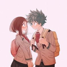 """4,311 Me gusta, 4 comentarios - Leviatán (@kymera503) en Instagram: """"The creator is in the picture among the best couple 😍😍😍😍"""" My Hero Academia Episodes, My Hero Academia Memes, Hero Academia Characters, My Hero Academia Manga, Animes Wallpapers, Cute Wallpapers, Sad Anime, Anime Art, Anime Moon"""