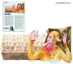 Para quem faz e/ou gosta de teatro: ilustração sobre El Malvolio, com o ator Tim Crouch.