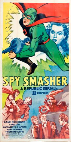 Spy Smasher (Republic Serial In 12 Chapters 1942).