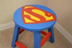 Superman Stool | Do It Yourself Home Projects from Ana White