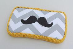mustache diaper